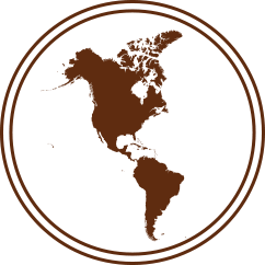 icon of north america and south america